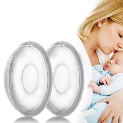 2pc Silicone Gel Galactorrhea Collection Cover Breast Milk Collector Massage