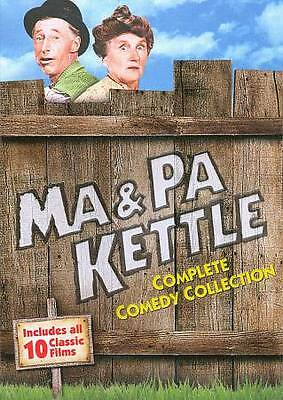 Ma & Pa Kettle Complete Comedy Collection (AMAZING DVD IN PERFECT CONDITION!! DI