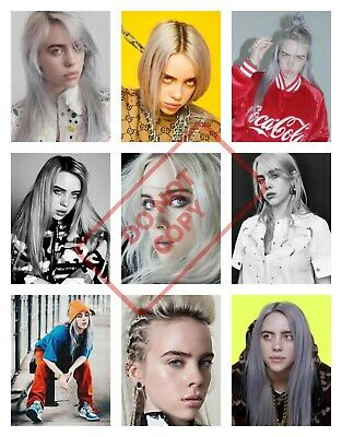 BILLIE EILISH Posters Collage Wall Art - VARIOUS SIZE OPTIONS be4