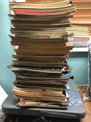 Huge Lot of Guitar Magazines from the 90s over 60 issues Guitar One Guitar World