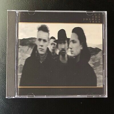 Joshua Tree, U2 ♫ CD 1987, Streets Have No Name, With Or Without You, GERMANY