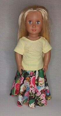 Dolls skirt fits 18 inch dolls