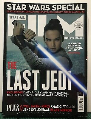 Total Film Last Jedi Star Wars Special Will Smith Orcs #266 FREE SHIPPING JB
