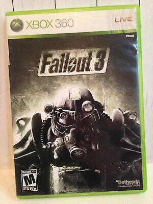 Fallout 3 (Microsoft Xbox 360, 2008) used video game