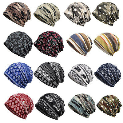 3pcs Beanies Knitted Hat Chemo Cap Cuff Baggy Slouchy Hat Headwear Headwrap