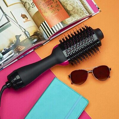 4 in 1 Pro Collection Salon One-Step Hair Dryer and Volumizer Oval Brush Design