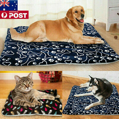 NEW Pet Washable Home Blanket Large Dog Cat Bed Cushion Mattress Kennel Soft Mat