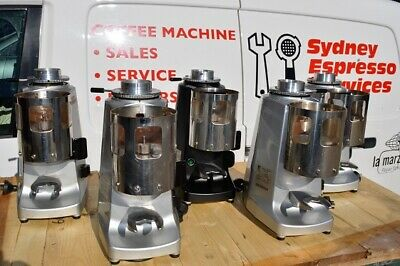 Mazzer Lux Manual. Various grinders in used condition & in full working order.