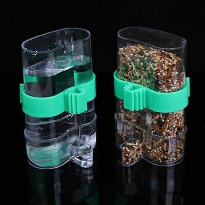 Universal Automatic Bird Feeder Bird Cage Water Drinker For Finch Canary Budgie