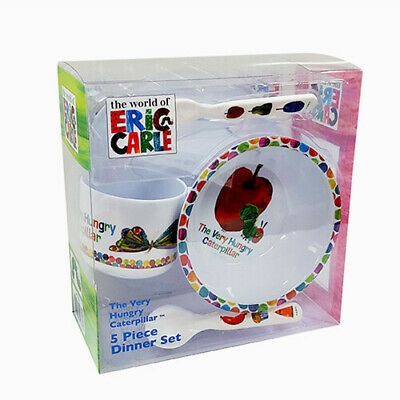 Eric Carle Very Hungry Caterpillar 5pc Dîner Set