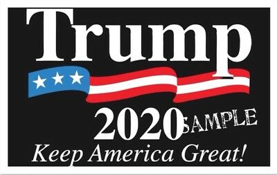 "Trump 2020 Keep America Great - 2""x3"" Flexible Fridge Magnet #2"