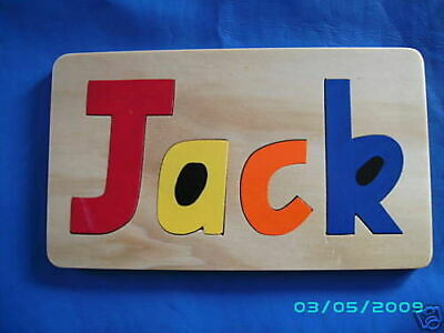Personalized Name Puzzles 4 Piece