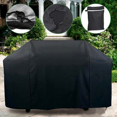 "Outdoor Gas Grill BBQ Barbecue Cover 75/"" Protection Patio Waterproof GXX675 GRAY"