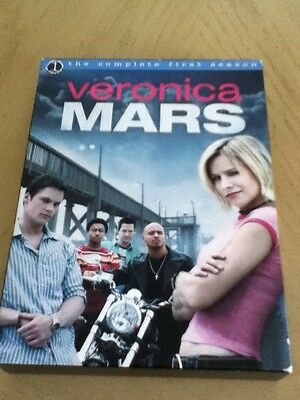 Veronica Mars - The Complete First Season (DVD, 2012, 6-Disc Set) Freeshipping