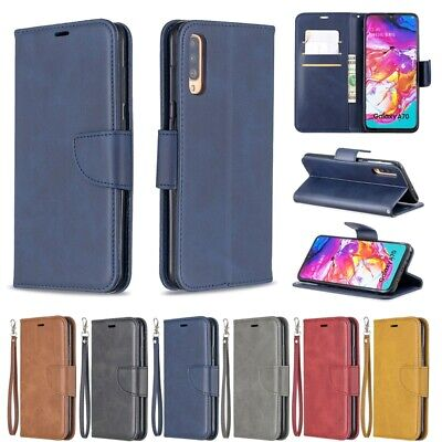 For Samsung Galaxy A8 A7 A6 2019 A70 A50 A40 A30 A20E A10 A10E Wallet Stand Case