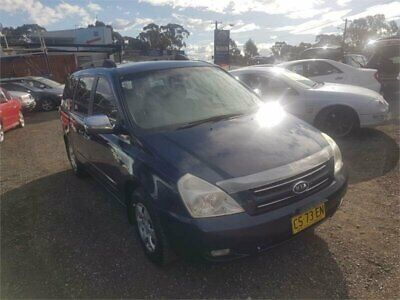 2006 Kia Grand Carnival VQ EX Blue Automatic A Wagon