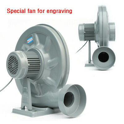 220v 550w Centrifugal Medium Pressure Fan Dust Smoke Exhaust Blower Fan Machine