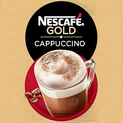 Nescafe Gold cappuccino for in cup vending machines 73mm incup 4 Darenth & Klix