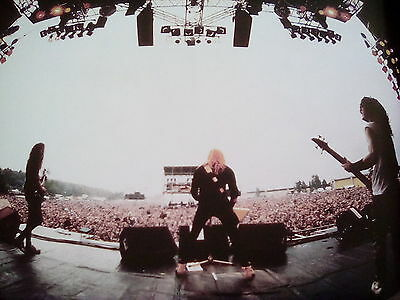 "Metallica Monsters of Rock 1987 Germany 10x9"" Picture to Frame? from 2015 Book"