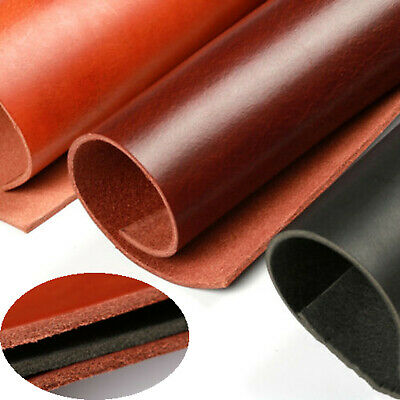 Vegetable tanned cowhide genuine leather crafts sheath/belt material thick 4mm