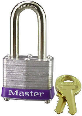 MASTER LOCK CO 1-1/2 Inch Laminated Padlock With 2-Inch Long Shackle 3DLH