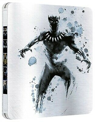 Black Panther - STEELBOOK Marvel (Blu-ray + 3D) - Ed. Italiana