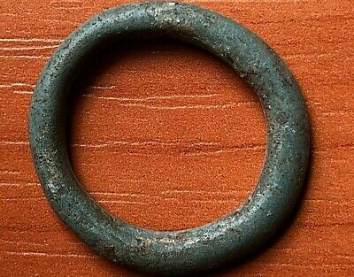 "Ancient Celtic Proto Money Bronze Ring ""Coin"" Circa 400 BC Very Rare"