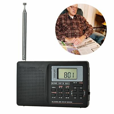 HANRONGDA HRD-737 PORTABLE Full Band Radio Aircraft Band Receiver FM