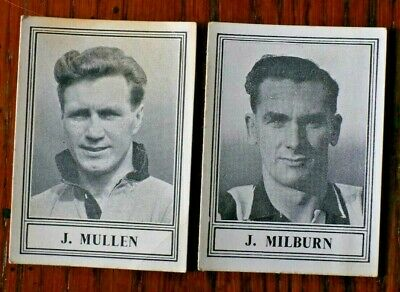 Famous Footballers, New Series (Diff) 1952  Barratt Trade Cards