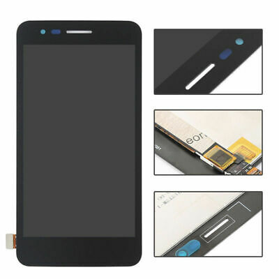 Nero LCD Schermo For LG K4 2017 X230 X230DSF Display Vetro Touch Screen Assembly