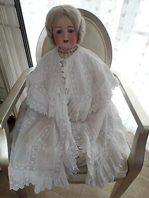 Antique  Exquisite Edwardian Baby Coat/Cape in unworn condition
