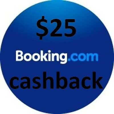 $25 USD Voucher for reservation (BOOKING.COM)