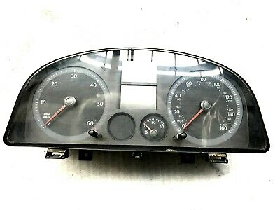 Vw Caddy Instrumental Cluster Speedometer P/N 2K0920941C