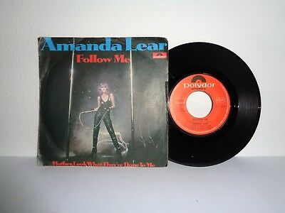 Amanda Lear Follow Me - Mother, Look What They've Done To Me Polydor 2121 357