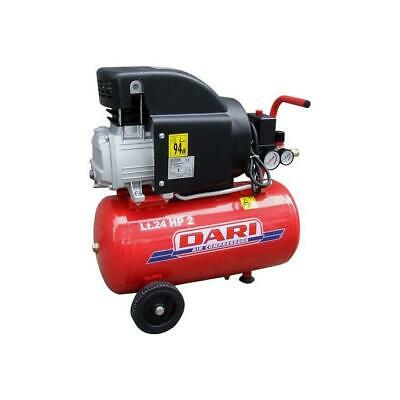 Dari SMART24 210 Compressore Coassiale Lubrificato Serbatoio 24Lt 1,5Kw 8 Bar