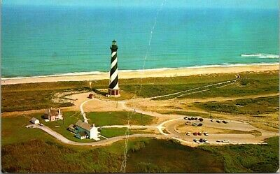 Postcard NC North Carolina Lighthouse Outer Banks Cape Hatteras Unposted