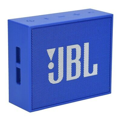 JBL Go Wireless Bluetooth Lautsprecher in blau für Apple iOS und Android Smartph