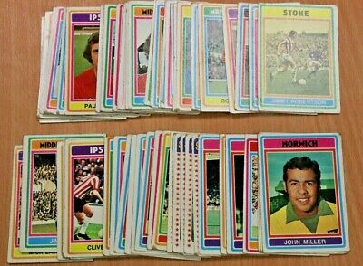 X330 Footballers, Blue Back, 1976 Topps Gum Cards, Pick Your Cards