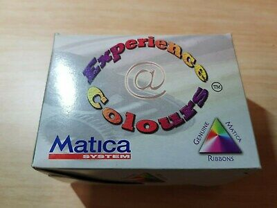 MATICA 5 Panel Colour Ribbon YMCKO M1100.1020 w/cleaning roller 250 cards/roll