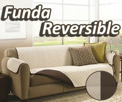 Funda manta cubre sofa 200x170 cm protector reversible lavable impermeable Tv
