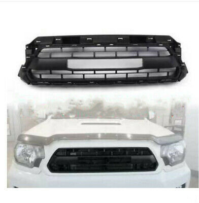 fit for Toyota Tacoma OEM TRD PRO 2012 to 2015 Matte Black Front Bumper Grill