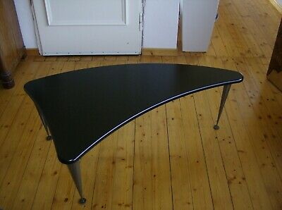 """HAIFLOSSE"" Nierentisch VINTAGE Couchtisch Industrie Design  kidney shaped table"