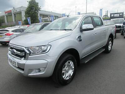 2018 Ford Ranger 3.2TDCi (200Ps) 4x4 Double Cab Auto Pick-Up Limited