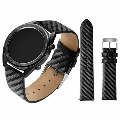 Replacement Carbon Fiber Watch Band Wrist Strap For Huawei GT Smart Watch 22mm