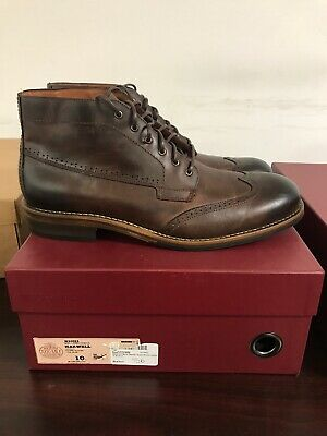2b2ea830c95 WOLVERINE HARWELL 1000 Mile Chukka Boot Brown Leather w40384 ...