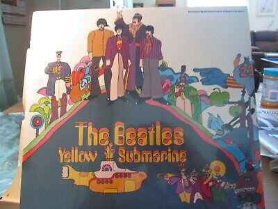 THE BEATLES YELLOW SUBMARINE CAPITOL SW-153 SEALED*100%*NO*BARCODE-CLIPS*1970's