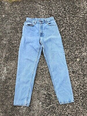 1e69e64942c Vintage 90s Levi's High Waisted Mom Jeans 550 Relaxed Fit Tapered Leg Size 7  JR