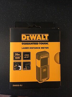 DeWalt DW033XJ 30 meters 100ft. Distance Measure Laser Meter BRAND NEW