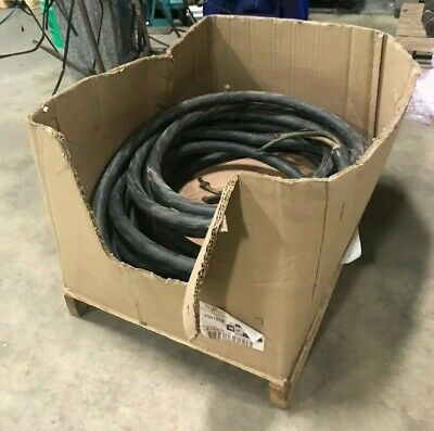 80' Long 4 Wire 1/0 AWG Type W Portable Power Cable