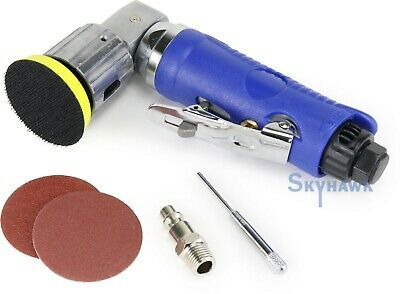 "2"" Mini Orbital Air Sander Kit, 80 & 120 Grit"